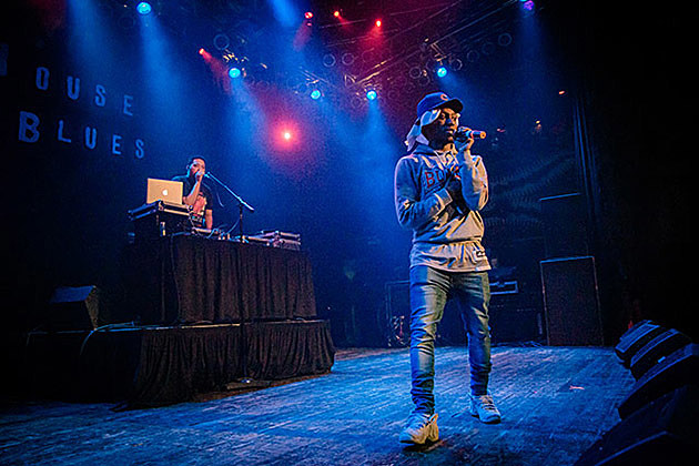 Jayaire Woods at House of Blues